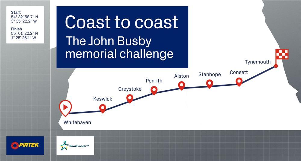 Coast to Coast John Busby memorial challenge